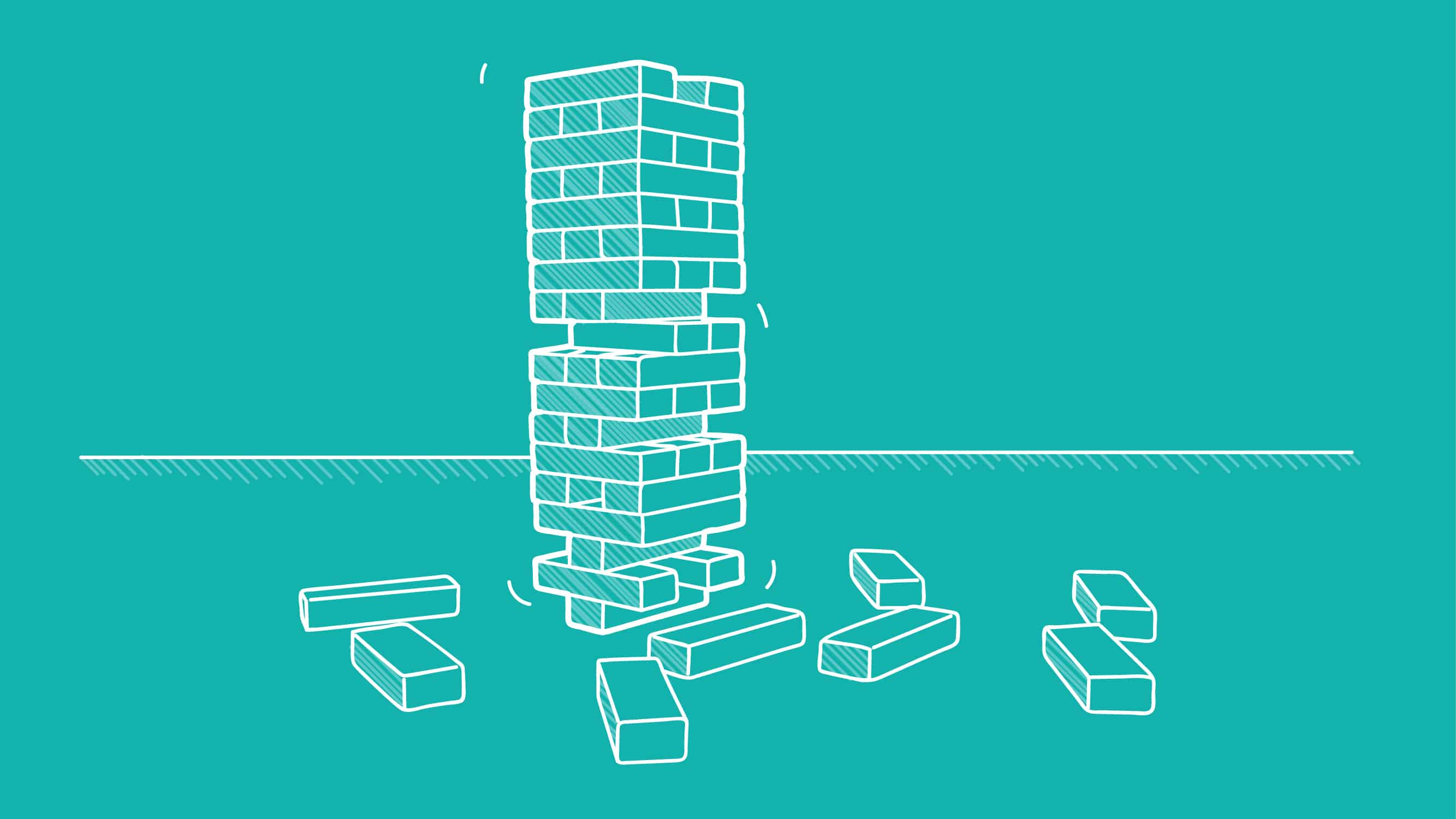 Wooden blocks to show when R&D tax credits shouldn't be used