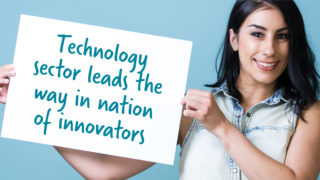 sign tech sector leads way
