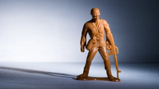 military soldier toy defence sector R&D