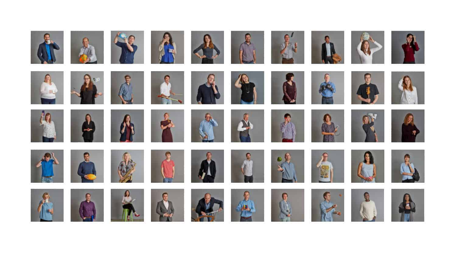 ForrestBrown hits 50 staff - the faces of our team