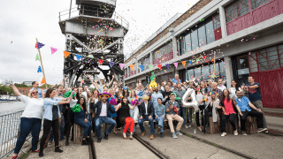 ForrestBrown celebrating their fourth birthday at Bristol Mshed