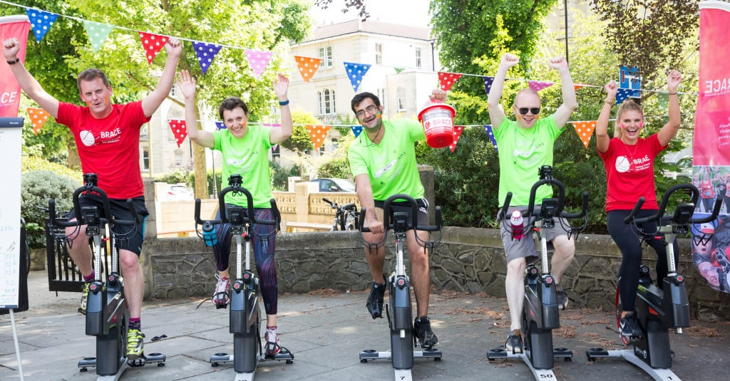 ForrestBrown team spin for BRACE on the summer charity day