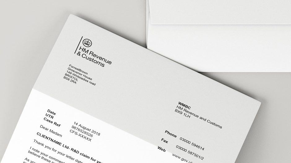 HMRC enquiry letter